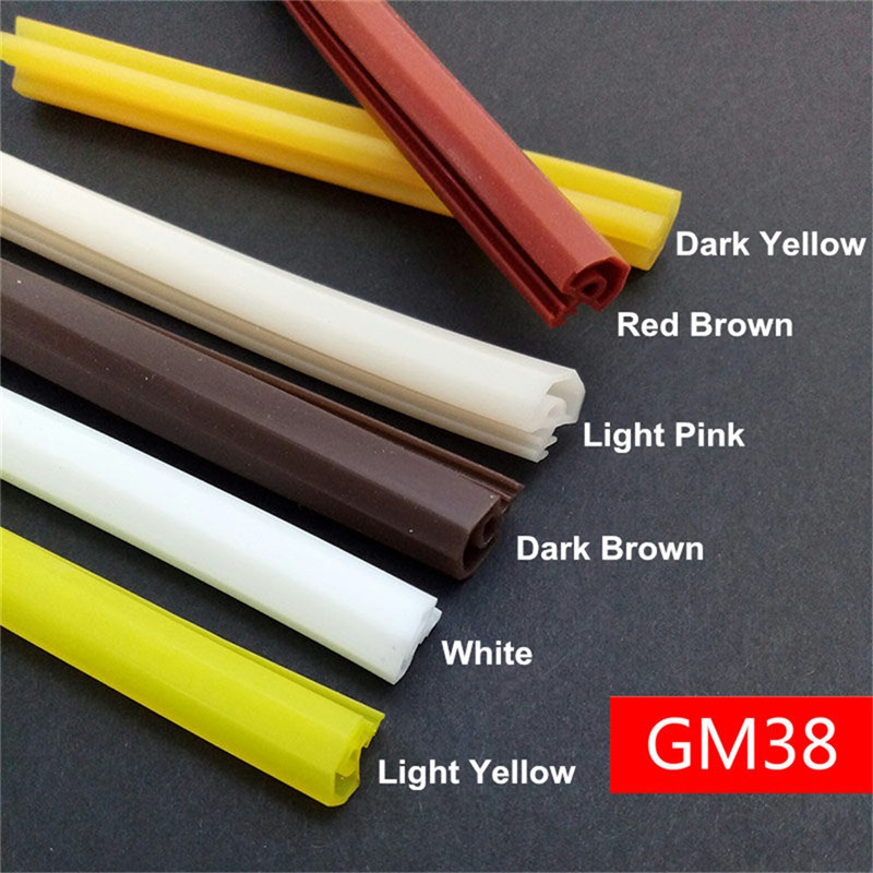 New Generation Of Silicon Rubber Sealing Strips Crash Soundproof Door Thong Strip Door/ Window Sealed Slot Type Square Premium