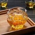 260 мл стеклянный чай для заварки термостойкая чахай орех шаблон чайная чашка подходит для микроволновых печей стеклянные кувшин для чая Чай...