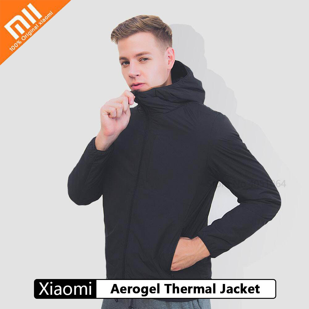 Xiaomi Aerogel Thermal Jacket High Technology Aerogel Mixed Material  Winter Coat Lightweight Windproof Water Repellent Fabric