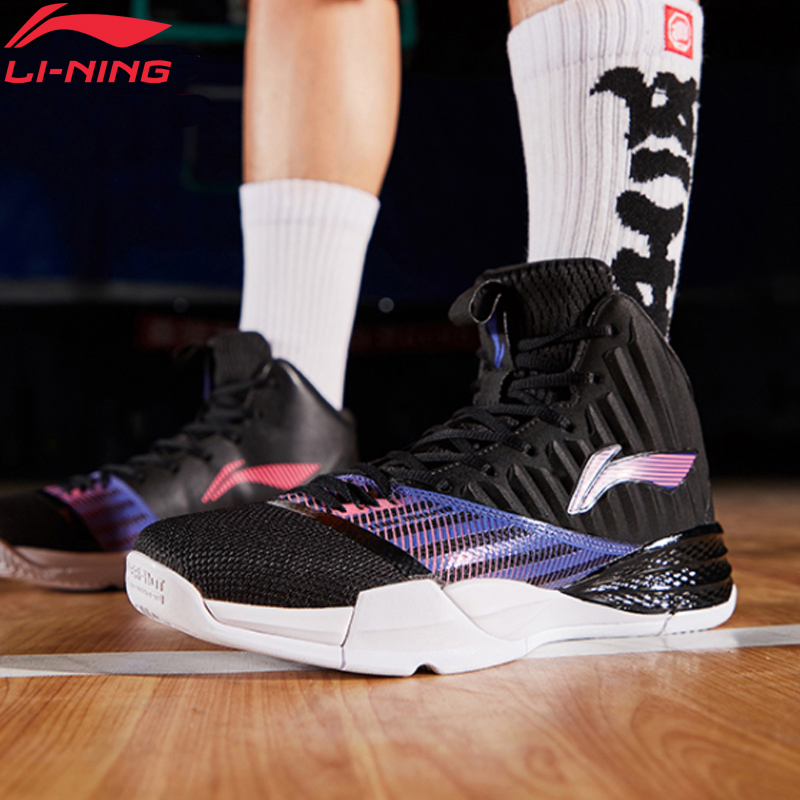 Li-Ning Men STORM On Court Basketball Shoes Cushion Bounce LiNing Li Ning CLOUD TUFF RB Wearable Sport Shoes ABPP003 XYL227