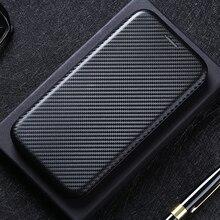 Carbon Fiber Flip Leather Case For Xiaomi Redmi Note 10 9s 9 Pro Max 8T 8 k40 K30S K30 Ultra 9C 9A 9 8A 10X Pro 5G 4G Cover