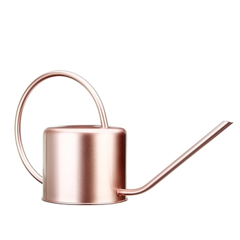 Big deal 1300Ml Watering Can Metal Garden Stainless Steel for Home Flower Water Bottle Easy Use Handle for Watering Plant Long M