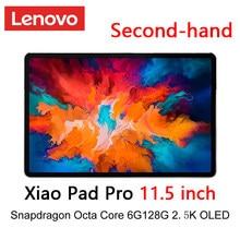 O firmware global de segunda mão lenovo xiaoxin almofada pro snapdragon octa núcleo 6gb 128gb 11.5 polegada 2.5k oled tela tablet android 10