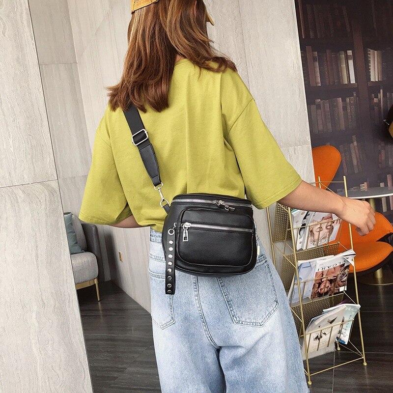Female Bag For The Belt Waist Bag Ladies Purse Female Banana Shoulder Women Wallets Bags For Women
