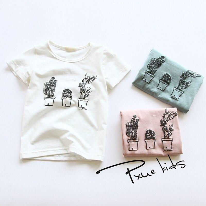 Летняя популярная детская одежда с рисунком для детей от 2 до 7 лет брендовая футболка с короткими рукавами для мальчиков и девочек детские повседневные топы высокого качества|Тройники| - AliExpress