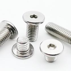 5/50pcs CM M2 M2.5 M3 M4 M5 M6 M8 A2-70 304 Stainless Steel Hex Hexagon Socket Ultra Thin Super Low Flat Wafer Head Screw Bolt