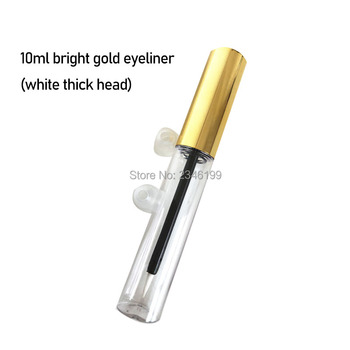 Eyelash Growth Liquid Empty Bottle Eyeliner Growth Liquid Fine Hair Brush Lip Color Empty Tube