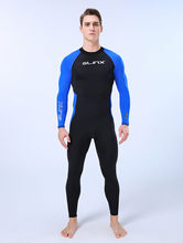 2020 Badmode Vogue Surfen Sneldrogend Zwemmen Wetsuits Voor Mannen Full Body Pak Super Stretch Duikpak Zwemmen Surf wetsuit # F(China)