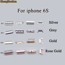 Replace Side-Buttons iPhone Chenghaoran for 6S Out Volume Full-Set Repair-Parts 1set