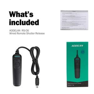 Image 5 - AODELAN N10 Shutter Release Cable Remote Control for Nikon Z6,Z7, Coolpix P1000,D90,D600,D610,D3100,D3200,D3300,D5000,D5100