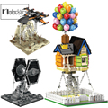 Mailackers Technische Creator Expert Tensegrity Skulptur Architektur Bausteine Ballon Haus Anti-schwerkraft Ziegel Spielzeug Geschenk