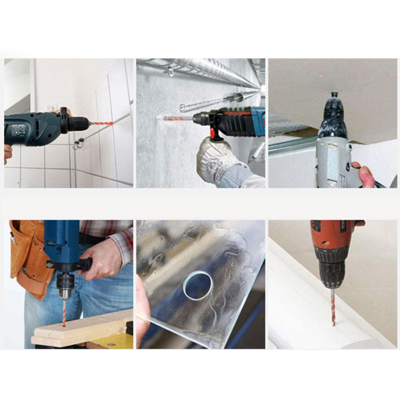 1PCS Power Tools Diamond Drill Ceramic Glass Concrete Porcelain Punch Drill DIY6 8 10 12mm Wall Hole Saw Drill in Drill Bits from Tools