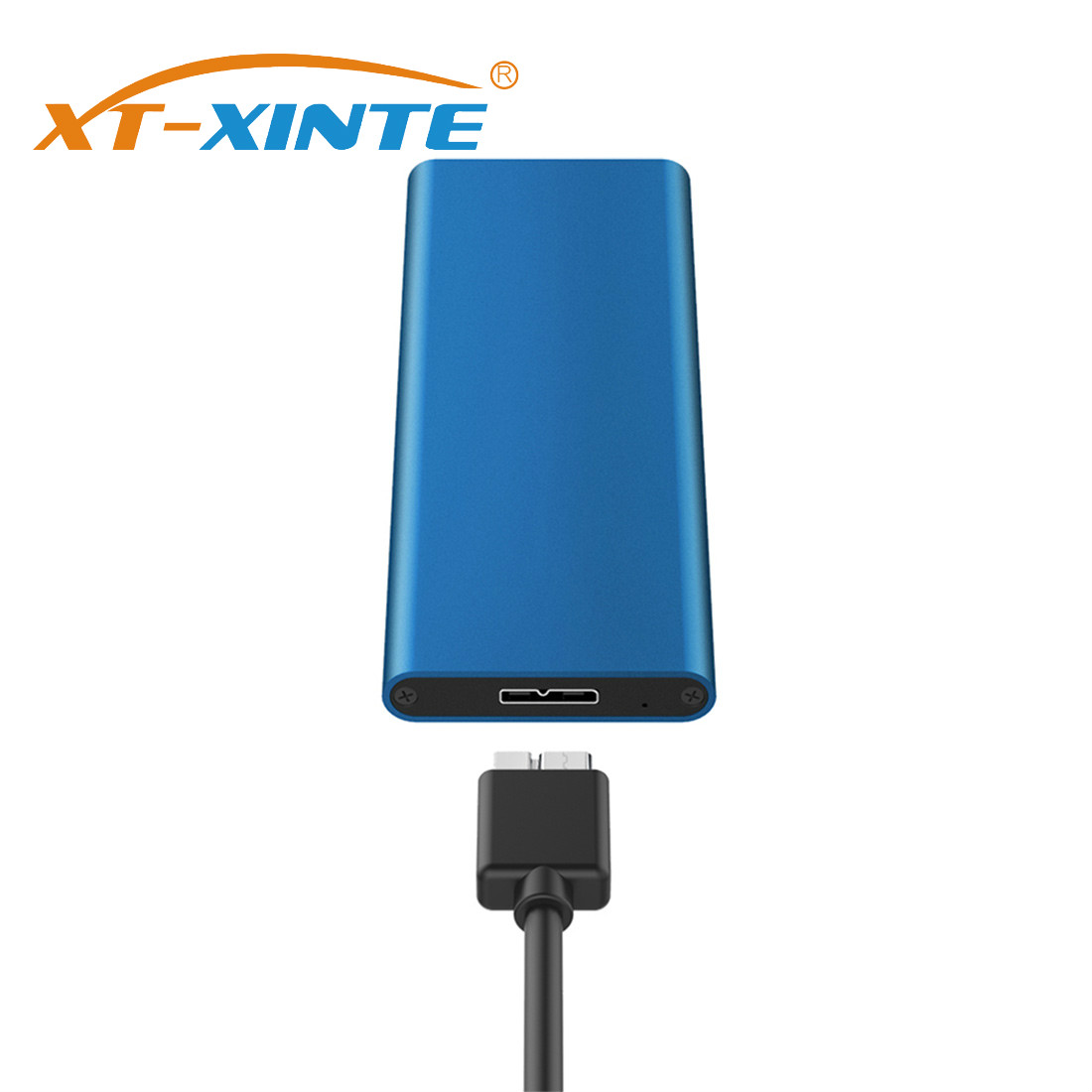 XT-XINTE USB 3.0 To M.2 NGFF SSD Mobile Hard Disk Box Adapter Card External Enclosure Case For SSD USB 3.0 2230/2242/2260/2280