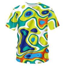 Ifpd Европейский/американский размер Новая цветная футболка