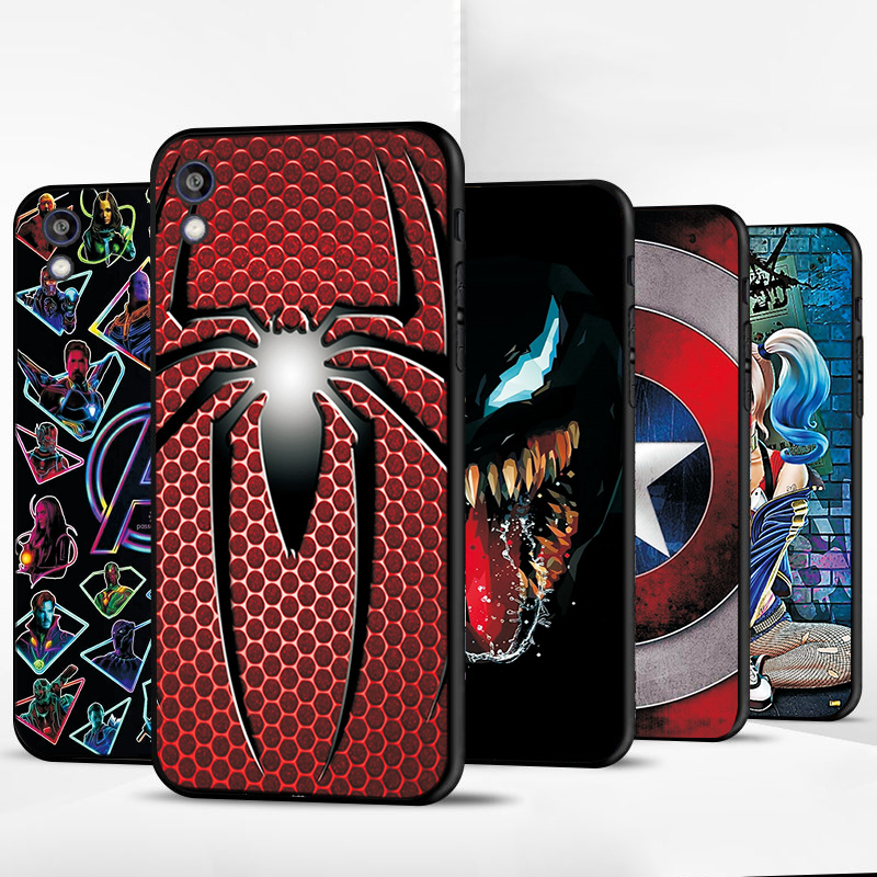 For Huawei Y5 2019 <font><b>Case</b></font> Cover For Huawei Honor 8S 8A 7S 7A <font><b>Phone</b></font> Shell Y5 Lite Prime 2018 Y6 2019 Avengers Protective Back <font><b>Case</b></font> image