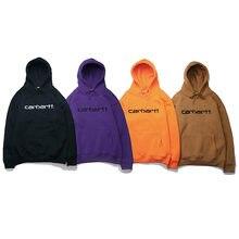 2021 Men And Women Plus Velvet Hoodie Hip-Hop Casual Tops Embroidery Loose Hooded Clothing Streetwear