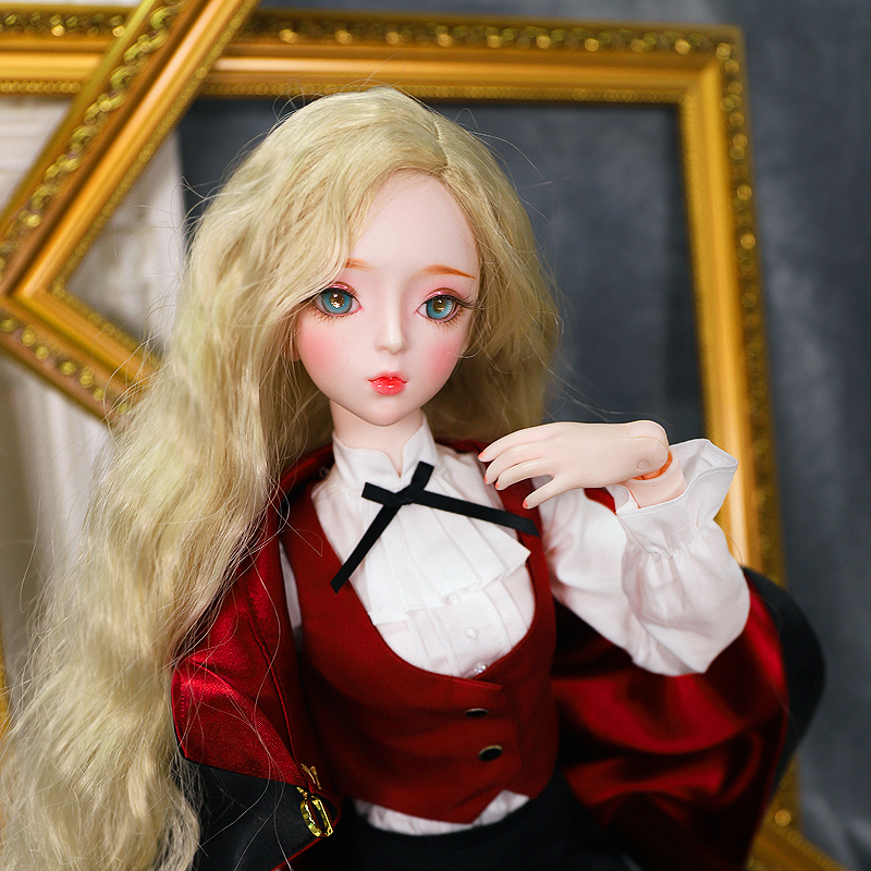 1/3 Bjd Doll 62cm Joint Body Doll Blonde Hair With Clothes Shoes Magician AI YoSD MSD SD Kit Toy Baby Gift DC Lati