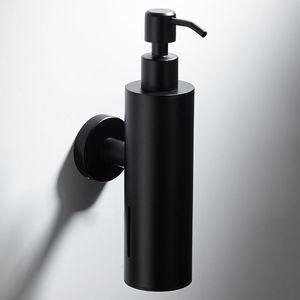Image 2 - 200Mlติดผนังห้องอาบน้ำขวดปั๊มสแตนเลสสตีลแชมพูสีดำ