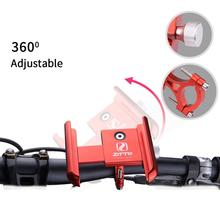 Bicycle Phone Holder  Universal Mobile Cell Phone Holder Bike Handlebar Clip Stand GPS Mount Bracket 360 degree rotate bicycle phone gps holder motorcycle bike handlebar phone clip mount bracket moto bike phone support rack stand