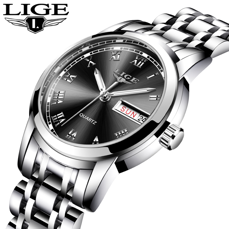 Ultimate SaleLIGE Women Watches Bracelet-Watch Stainless-Steel Sport Top-Brand Waterproof Fashion