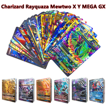 Mewtwo Charizard Shining English Pokemones Cards Toys TAG TEAM VMAX GX EX MEGA Trainer Collection Battle Carte Game Gift