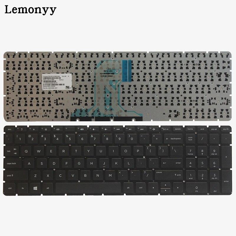 New Original Keyboard for HP 15-AC//15-AY//15-AF//15-AJ//250//255//TPN-C125 TPN-C122