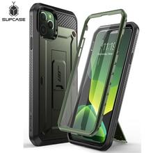 """IPhone 11 Pro 5.8 """"(2019) SUPCASE UB Pro tam vücut sağlam kılıf kılıf kapak ile ekran koruyucu ve Kickstand"""