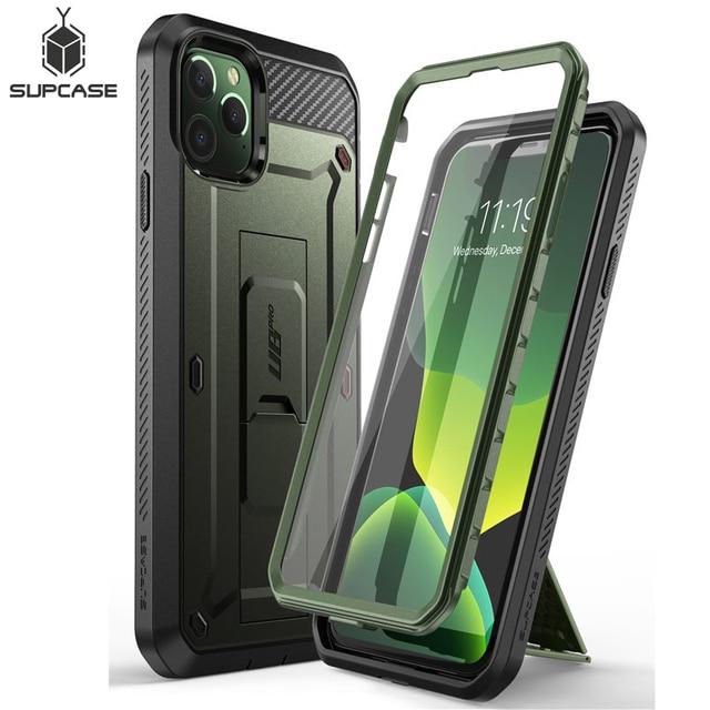 Чехол для iPhone 11 Pro, 5,8 дюйма (2019) SUPCASE UB Pro, полноразмерный прочный Чехол кобура со встроенной защитой экрана и подставкой