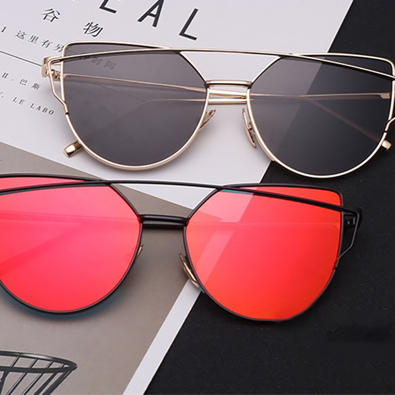 2019 Women's Classic Sunglasses Brand Designer Fashion Multicolor Female Eyeglasses Fashion Metal Shockproof Retro Oculos