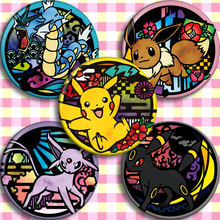 Pokemon Anime Badge 58mm Second Yuan Peripheral Customized Poster Hanging Pendant Costumes Badge(China)