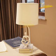 Modern Minimalist Shaped Reading Lamp Nordic Creative LED Table Lamp Study Bedside Lamps Bedroom Living Room Deco Table Lights nordic luxury led table lamp lighting modern k9 material crystal minimalist table lights study bedroom dining room table lamps