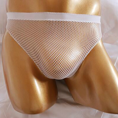2020 New Male Underwear For Men G-Strings Plus Size Men Panties Sexy Briefs Fishnet Thongs Male Chastity Lingerie Sexy Costume