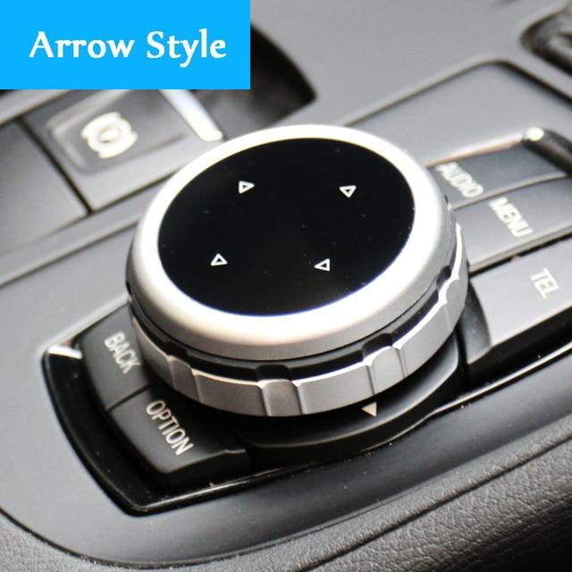 Original Car Multimedia Buttons Cover iDrive Stickers for BMW 1 3 5 7 Series X1 X3 F25 X5 F15 X6 16 F30 F10 F07 E90 F11 E70 E71 4