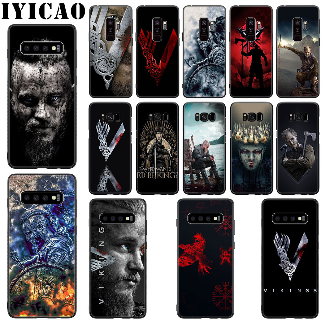 Vikings Series Soft Silicone Case for Samsung Galaxy S20 S10 S9 S8 Lite Plus Ultra S10E S6 S7 Edge Phone Case image