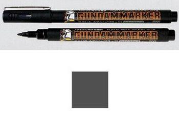 2 uds x GSI CREOS Mr. Hobby Gundam marcador GM21 gris sumi-ire pluma de cepillo para la fabricación de modelos