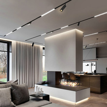 N1 Modern Recessed Magnetic Track Lights design led Lamp Magnetic Rail Ceiling System Indoor Track Lighting Spot Rail Spotlights