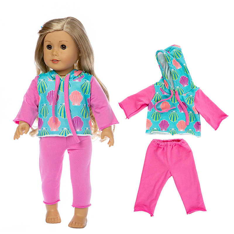18 Polegada roupas de boneca casaco de pele blusão leggings para 43cm bebê recém nascido boneca jaqueta zíper roupas inverno bebe boneca roupas