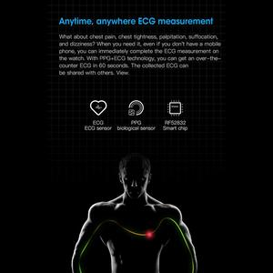 Image 4 - Microwear L9 PPG+ECG Smart Watch Blood Pressure Oxygen Heart Rate Monitoring Fitness Sport Watch IPS Colorful Screen Smart Band
