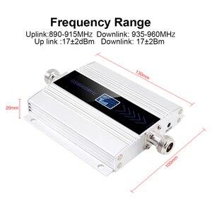 Image 2 - Màn hình hiển thị LED GSM 900 Mhz Repeater celular DI ĐỘNG ĐIỆN THOẠI Lặp Tín Hiệu tăng áp, 900MHz GSM khuếch đại + Yagi/Trần Ăng Ten