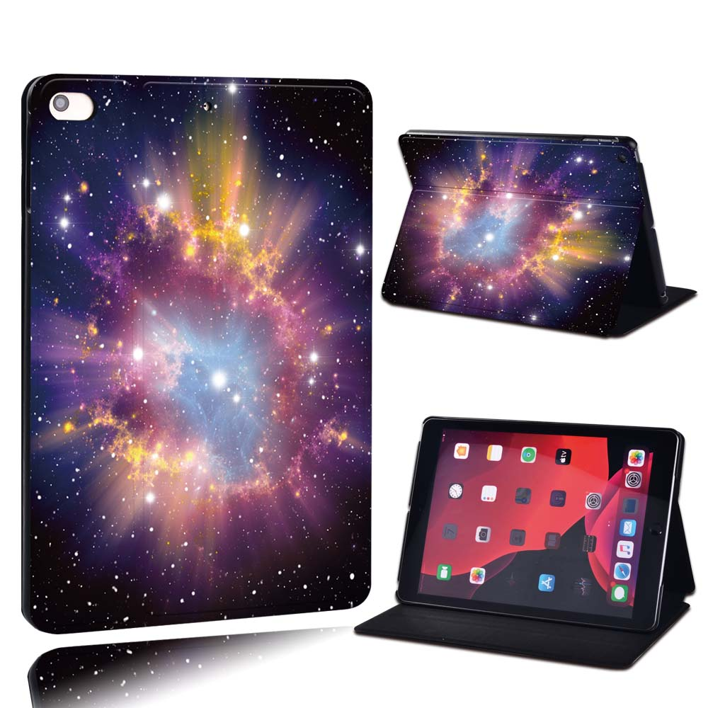 19.star with pink Champagne For Apple iPad 8 10 2 2020 8th 8 Generation A2428 A2429 PU Leather Tablet Stand