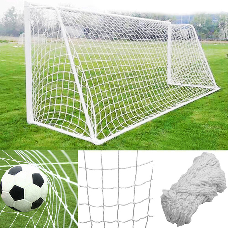 Soccer Ball Goal Net 3.6x1.8M Football Nets Polypropylene Mesh For Gates Training Post Nets Full Size Nets Only