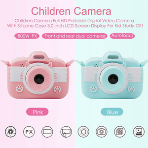 Image 2 - Kids Camera Full HD Digital Camera for Children 3.0 inch touch Screen Display Children Toys Camera For Christmas Gift