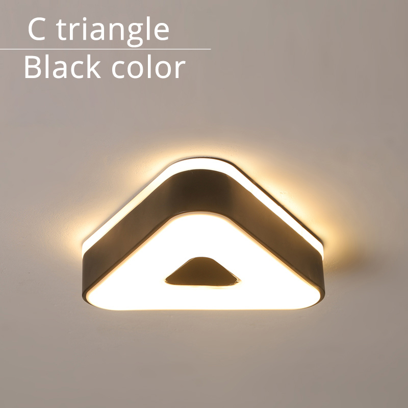 C triangle black