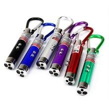 Высокое качество 3 в 1 красная лазерная ручка, бесплатная доставка 1mV 49 футов лазерной мини светодиодная вспышка светильник луч светильник л...