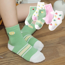 Wonderful Gifted Child 2019 Autumn And Winter CHILDREN'S Socks Tube Socks Cartoon Knitting Cotton Socks Whole Network Hot Sellin