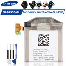 Original Samsung Replacement Battery EB BR500ABU for Samsung Galaxy Watch Active SM R500 Genuine Battery 236mAh