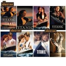 5d алмазная живопись Титаник настенные картины для гостиной