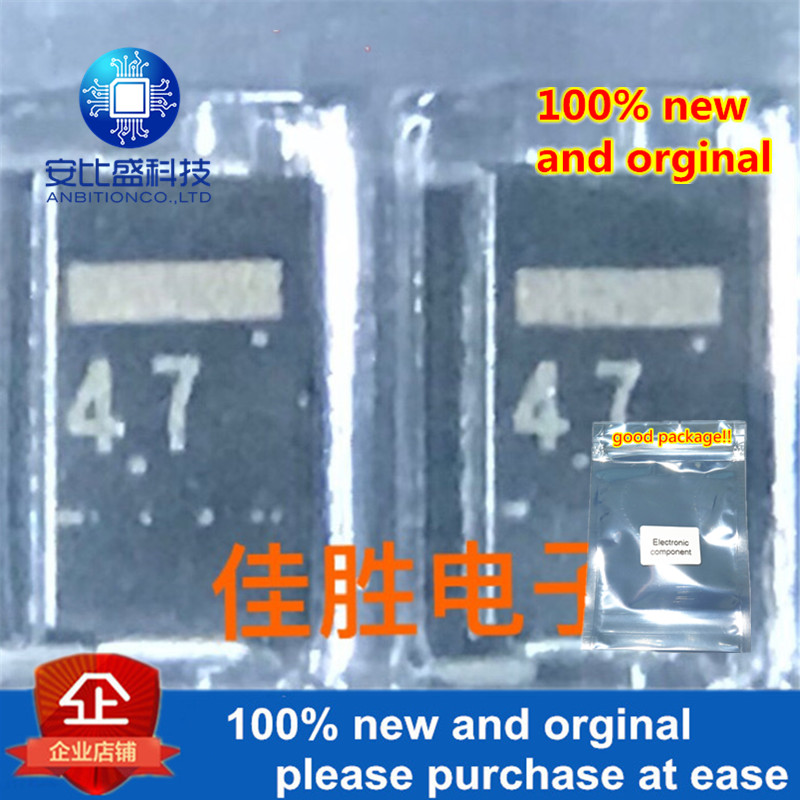 50pcs 100% New And Orginal RD4.7 DO214AC Silk-screen 4.7 4.7V Zener Diode In Stock