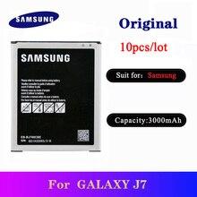 10pcs EB-BJ700CBE Original Battery For Samsung Galaxy J7 2015 J700 SM-J700F J700M J700M/DS J700T J700P J700H J7000 J7008 J7009 цена 2017