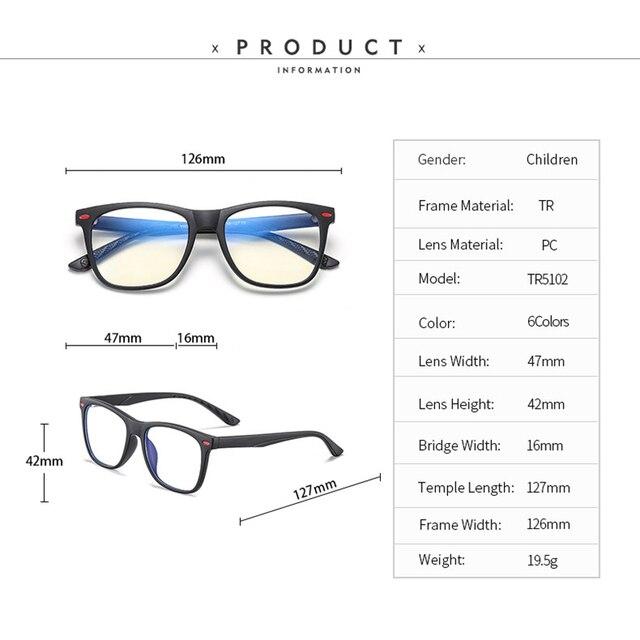 детские оптические очки анти синий светильник для детей близорукость фотография